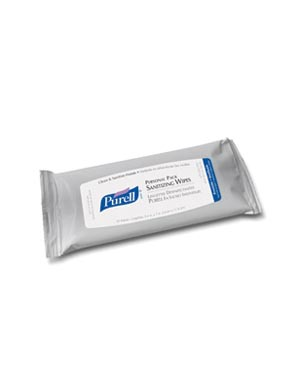 Gojo Purell® Personal Pack Sanitizing Wipes