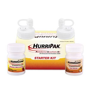 Beutlich Hurripak™ Periodontal Anesthetic Starter Kit