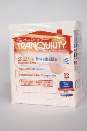 Principle Business Tranquility® Slimline® Breathable Disposable Briefs