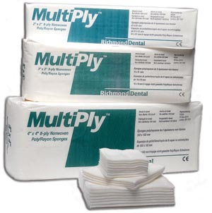 Richmond Multiply™ Non-Woven Sponges