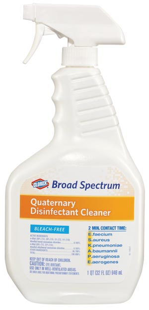 Clorox® Broad Spectrum Quaternary Disinfectant Cleaner
