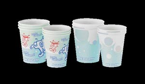Medicom Poly Coated Paper Cups