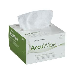 Georgia-Pacific Accuwipe® Recycled Delicate Task Wipers